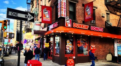 Photo of Coffee Shop Dunkin' Donuts at 381 Canal St, New York City, NY 10013, United States
