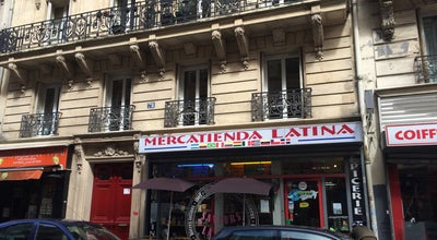 Photo of Grocery Store Mercatienda Latina at 78 Rue Dunkkerque, Paris 75009, France