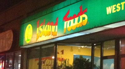 Photo of Caribbean Restaurant Island Foods at 1182 King St W, Toronto, Canada
