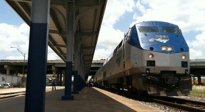 Photo of Train Station Houston Amtrak Station (HOS) at 902 Washington Ave, Houston, TX 77002, United States