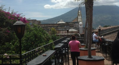 Photo of American Restaurant Lava Terrace Bar & Burgers at 4a Avenida Norte No. 3, Antigua 03001, Guatemala