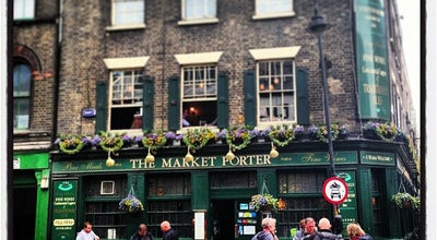 Photo of English Restaurant The Market Porter at 9 Stoney Street, London SE1 9AA, United Kingdom