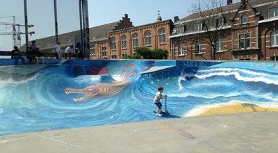 Photo of Skate Park Skatepark des Ursulines / Ursulinenskatepark at Square Des Ursulines / Ursulinensquare, Brussels 1000, Belgium