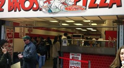 Photo of Italian Restaurant 2 Bros Pizza at 1015 6th Ave, New York, NY 10018, United States