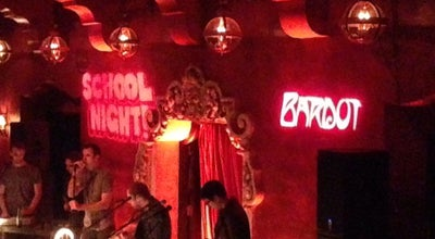 Photo of Nightclub Bardot at 1737 N Vine St., Hollywood, CA 90028, United States