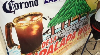 Photo of Beer Garden micheladas puesto Palapa Willy at Mexico