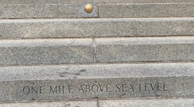 Photo of General Travel Mile High Marker at State Capitol at 200 E Colfax Ave, Denver, CO 80203, United States