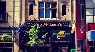 Photo of American Restaurant McLean's Pub at 1210 Rue Peel, Montreal H3B 2T6, Canada