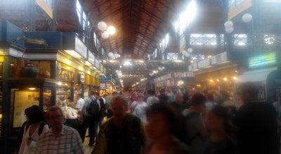 Photo of Farmers Market Mend-Fruit Zöldséges Vàmház körúti Vásárcsarnok at Budapest, Hungary