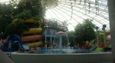 Photo of Water Park Mediterran Elmenyfurdo (Mediterranean Pleasure Baths) at Nagyerdei Park 1, Debrecen 4032, Hungary