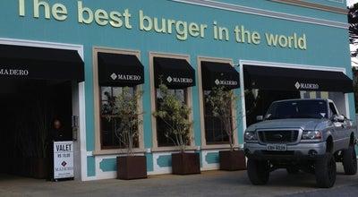 Photo of Burger Joint Madero Burger & Grill at R. Bpo. D. José, 2377, Curitiba 80440-080, Brazil