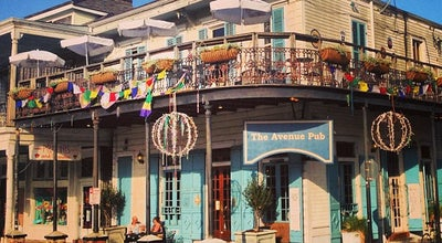 Photo of American Restaurant The Avenue Pub at 1732 Saint Charles Ave, New Orleans, LA 70130, United States