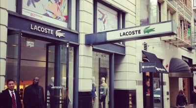 Photo of Clothing Store Lacoste at 172 Geary St, San Francisco, CA 94108, United States