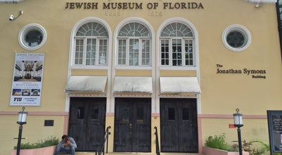 Photo of History Museum Jewish Museum of Florida - FIU at 301 Washington Ave., Miami Beach, FL 33139, United States