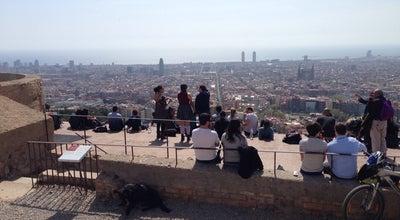 Photo of Scenic Lookout Turó de la Rovira at Turó De La Rovira, Barcelona, Spain