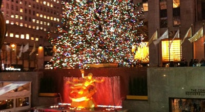 Photo of Plaza Rockefeller Plaza at 1 Rockefeller Plz, New York, NY 10020, United States