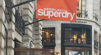 Photo of Clothing Store Superdry at 103-113 Regent St, London W1B 4HL, United Kingdom