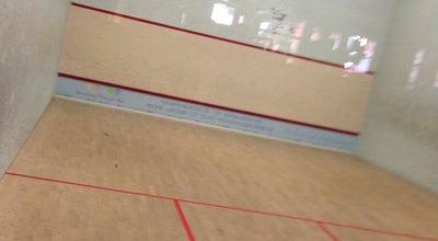 Photo of Tennis Court Park Club Nymphenburg Squash Center at Munich, Germany
