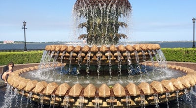 Photo of Monument / Landmark Pineapple Fountain at 1 Vendue Range, Charleston, SC 29401, United States