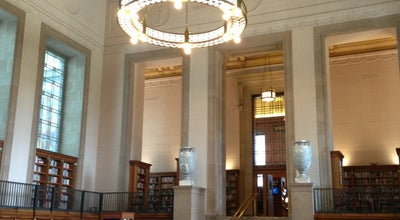 Photo of Monument / Landmark Central Library at 40 E Saint Clair St, Indianapolis, IN 46204, United States