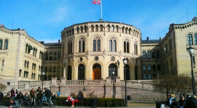 Photo of Capitol Building Stortinget at Karl Johans Gate 22, Oslo 0026, Norway