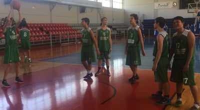 Photo of Basketball Court Κλειστο Γηπεδο Μπασκετ Ζηρινειου at Α, Athens, Greece