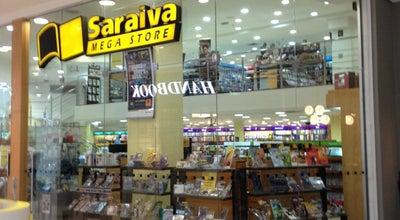 Photo of Bookstore Saraiva MegaStore at Shopping Santa Úrsula, Ribeirão Preto, SP 14010-160, Brazil