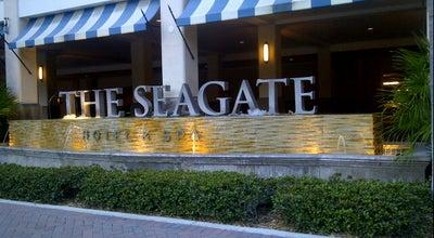 Photo of Hotel The Seagate Hotel & Spa at 1000 E. Atlantic Ave, Delray Beach, FL 33483, United States