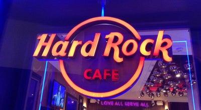 Photo of American Restaurant Hard Rock Cafe Ibiza at Paseo Vara De Rey 1, Ibiza Town 07800, Spain