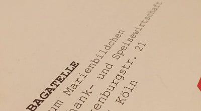 Photo of German Restaurant Wirtshaus Zum Marienbildchen at Falkenburgstr. 21, Cologne 50935, Germany