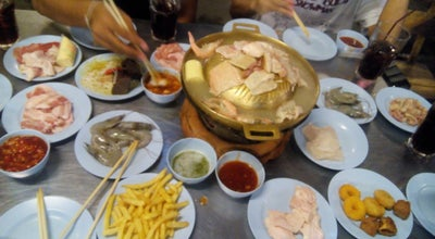 Photo of BBQ Joint เฮียอ้วน หมูกระทะ at Rangsit University, Lak Hok, Thailand