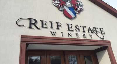 Photo of Tourist Attraction Reif Estate Winery at 15608 Niagara Parkway, Niagara-on-the-Lake L0S 1J0, Canada