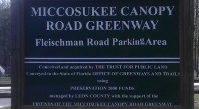 Photo of Trail Miccosukee Greenway Miccosukee Entrance at United States
