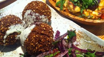 Photo of Middle Eastern Restaurant Yalla Yalla at 12 Winsley Street, London W1W 8HQ, United Kingdom