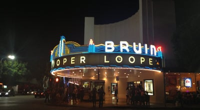 Photo of Movie Theater Bruin Theater at 948 Broxton Ave, Los Angeles, CA 90024, United States