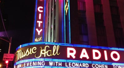 Photo of Concert Hall Radio City Music Hall at 1260 Avenue Of The Americas, New York, NY 10020, United States