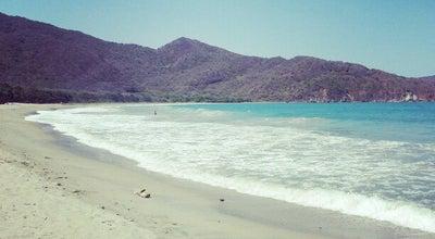 Photo of Beach Playa Cristal o Playa del Muerto at Parque Tayrona, Santa Marta, Colombia