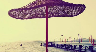 Photo of Beach Enguru Beach at Sahilkent-ayvalik, Balikesir, Turkey