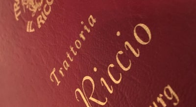 Photo of Italian Restaurant Ristorante Trattoria il Riccio at 6 Rue Beaumont, Luxembourg City 1219, Luxembourg