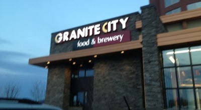 Photo of American Restaurant Granite City Food & Brewery at 1864 W Mcewen Dr, Franklin, TN 37067, United States