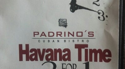 Photo of Caribbean Restaurant Padrino's Cuban Bistro at 13586 Village Park Dr, Orlando, FL 32837, United States