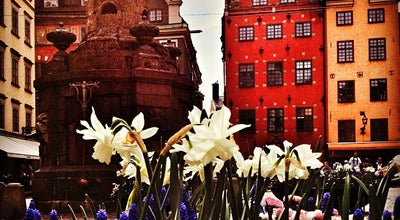 Photo of Monument / Landmark Stortorget at Gamla Stan, Stockholm, Sweden