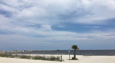 Photo of Beach Mississippi Gulf Coast at Gulfport, MS, United States