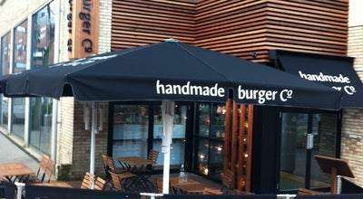 Photo of American Restaurant Handmade Burger Co. Reading at Unit 10 Riverside Level The Oracle Centre, Reading RG1 2AG, United Kingdom