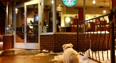 Photo of Coffee Shop Starbucks at 604 Danforth Ave, Toronto M4K 1R1, Canada