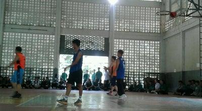 Photo of Basketball Court โรงยิมบาสเก็ตบอล   มปศ. 🏀 at Thailand