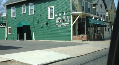 Photo of American Restaurant Archie Moore's Bar & Restaurant at 188 1/2 Willow St, New Haven, CT 06511, United States