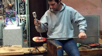 Photo of Arts and Crafts Store Laguna Murano Glass at San Marco, VENEZIA, Italy