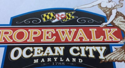 Photo of American Restaurant Ropewalk Ocean City at 8203 Coastal Hwy, Ocean City, MD 21842, United States
