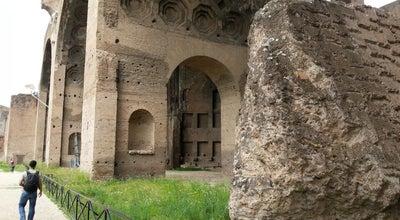 Photo of Monument / Landmark Basilica of Maxentius at Via Sacra, Rome 00184, Italy